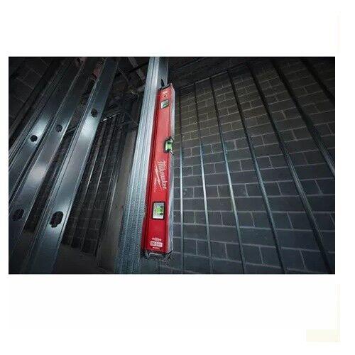 Milwaukee REDSTICK Premium Wasserwaage 40cm// 60cm// 80cm// 100cm// 120cm magnetisch