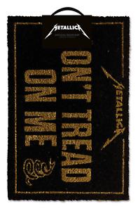 Officiel Metallica ne pas marcher sur moi Bienvenue Porte Tapis accueil Musique Groupe Rock Cadeau