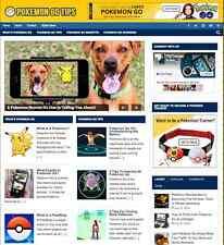 "Established ""Pokemon GO"" Niche Affiliate Website Turnkey Business For Sale - NEW"