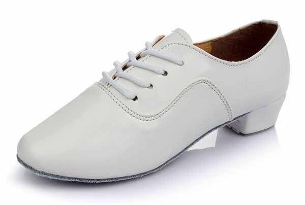 Ballroom adult men latin dance shoes boy salsa tango multi-colors heeled