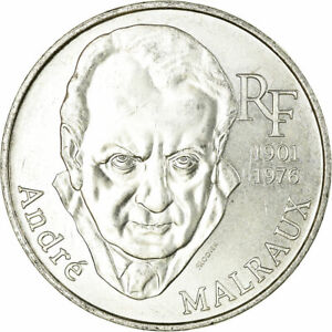 516631-Coin-France-Andre-Malraux-100-Francs-1997-MS-63-Silver