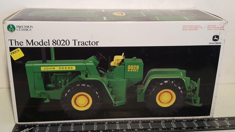 Ertl John Deere 8020 1 16 diecast metal farm tractor replica collectible