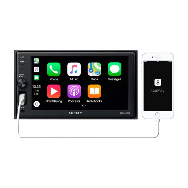 "Sony XAV-AX1000 6.2"" (15.7 cm) Apple CarPlay Media Receiver with Bluetooth"
