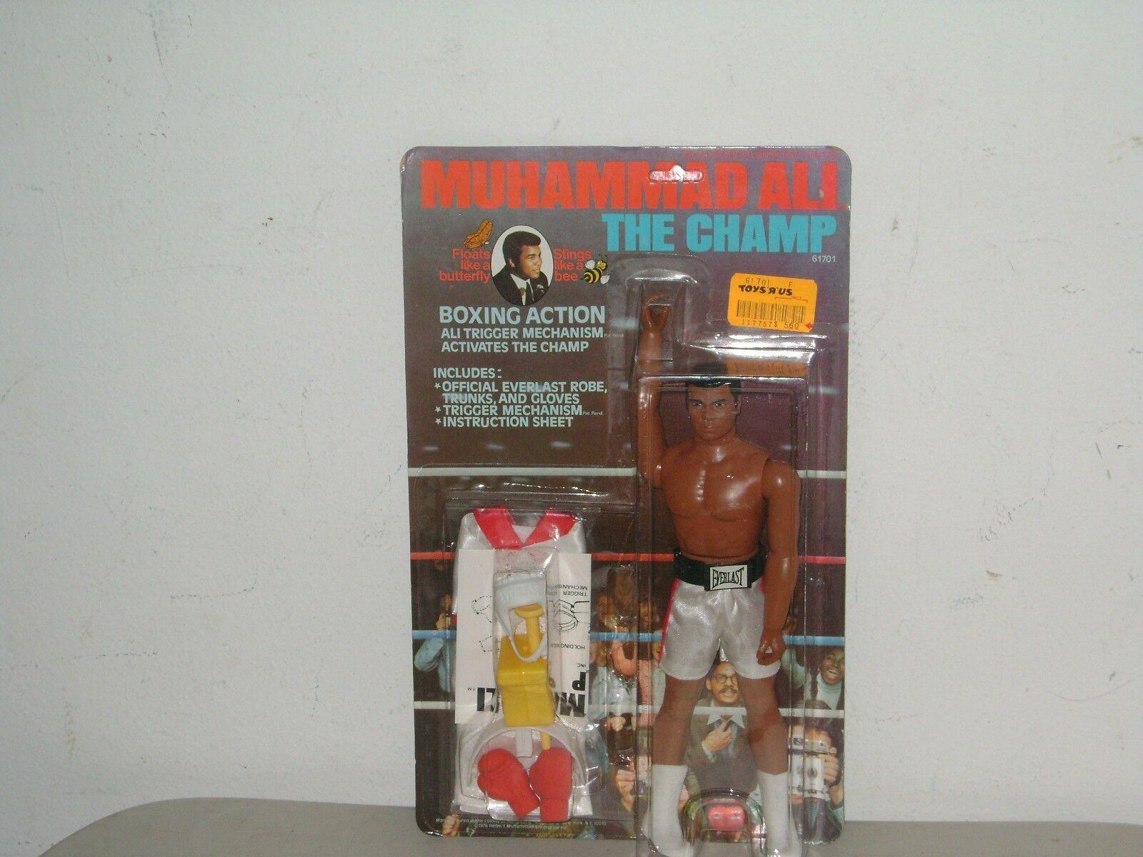 76 MEGO Muhammad Ali acción figura menta en tarjeta