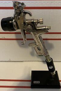 SATA-JET-X5500-5000-4000-3000-2000-1500-MiniJet-Logo-d-Gun-Stand-With-Coupler