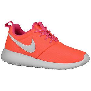 410768d027abb NIKE Rosherun GS sz 7Y Lava Glow White Pink Pow Run Running Roshe ...