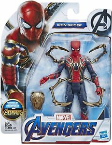 Spider-Man-Marvel-Avengers-Infinity-War-Issue-6-pouces-IRON-SPIDER-Figure
