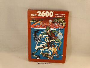 CROSSBOW-ATARI-2600-VCS-VIDEOGIOCO-VINTAGE-ANNI-80-COMPLETO