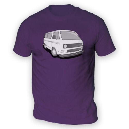 Wedge t-shirt homme-x13 couleurs-cadeau allemand camper classic bus T3 T25