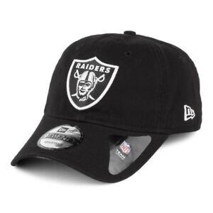 4717c507cdc5 Details about New Era 9TWENTY NFL Oakland Raiders Curved Peak Washed Effect  Adjustable Cap
