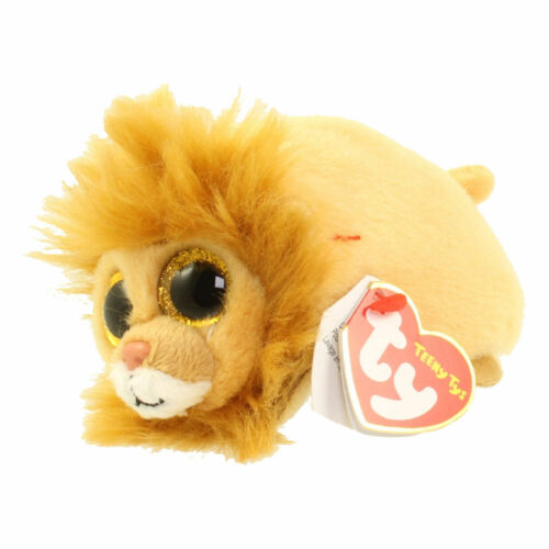 """TY Beanie Babies Teeny stackable 3/"""" Plush NEW Regal the Lion"""