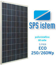 Pannello Fotovoltaico Policristallino SPS ECO 250W