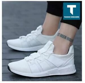 Owen-Men-039-s-Fashion-Sneakers-Rubber-Shoes-1985-WHITE-SIZE-43