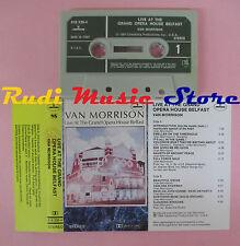 MC VAN MORRISON Live at the grand opera house belfast 1984 italy cd lp dvd vhs