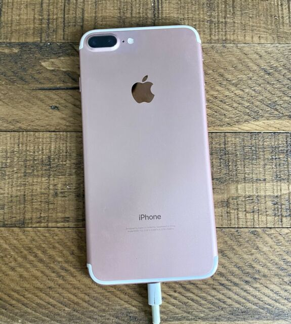 iPHONE 7 PLUS UNLOCKED VERY GENTLY USED ROSE GOLD 32 GB