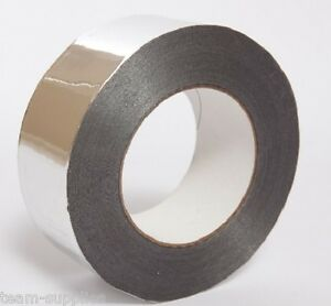 Quality-Silver-Aluminum-Tape-Foil-Insulation-Self-Adhesive-Repair-75mm-x-45m