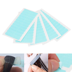 60pcs-Super-Fort-Bande-Ruban-Adhesif-Pour-Extensions-Cheveux-Adhesive-Trame-Tape