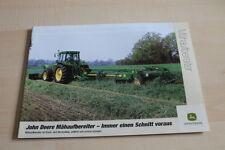 126689) John Deere Mähaufbereiter 228A 131 324 328 331 Prospekt 08/2001
