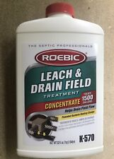 Ounce Biodegradable Leach and Drain Field Opener Concentrate Roebic K-570 32 Fl