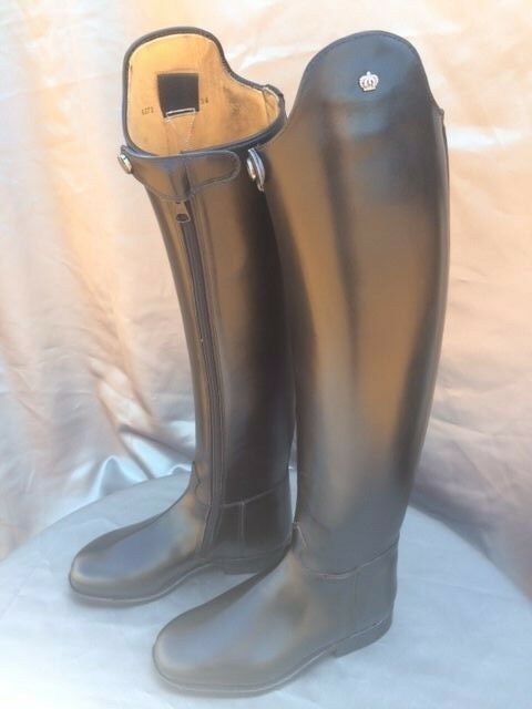 Konig Favorit Dressage Boots with Zippers & Snaps US 6.5 (34 47 54)