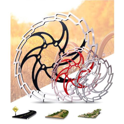 MTB Mountain Bike Bicycle Brake Disc Floating Rotor 160//180mm 6 Bolt Rotors