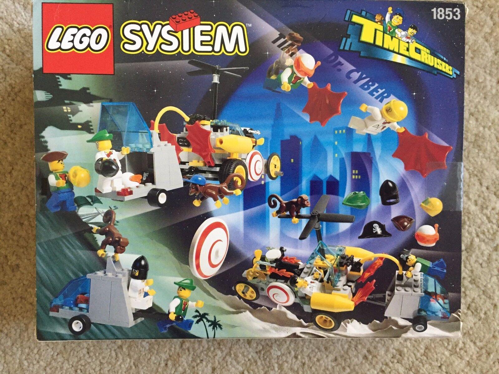 Vintage Lego Time Hypno Cruiser 6492 /1853 new sealed RARE