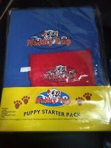 Brand New, Puppy Starter Pack, Contient: 1 Couverture, 1 Serviettes Et 1 Wash Mitt. B-afficher Le Titre D'origine