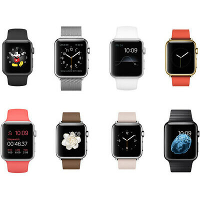 Apple Watch Series 1 - 38mm / 42mm - all mix COLOURS GRADEs