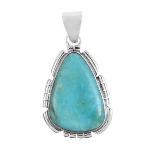 925-Sterling-Silver-Turquoise-Pendant-Southwest-Jewelry-for-Women-Cttw-3-5