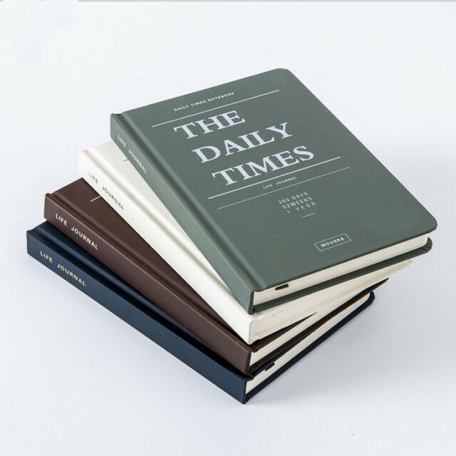 daily times 1pc business diary planner hard cover study gift