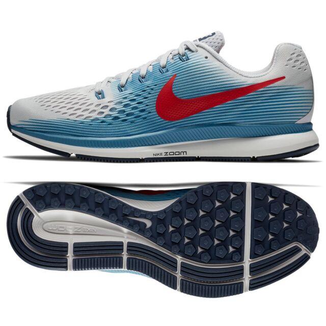 de2075571f Nike Air Zoom Pegasus 34 Men's Size 12.5 Running Shoes - Gray Red ...
