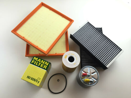 FILTRO OLIO 2 X FILTRO ARIA 2 X FILTRO CARBONE ATTIVO kraftsto w164 x164 420 CDI 450 CDI