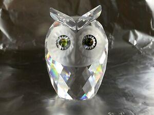 Woodland Friends Swarovski cristal original Owl 70x50x50mm