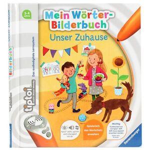Ravensburger-00674-tiptoi-Mein-Woerter-Bilderbuch-Unser-Zuhause-NEU-OVP