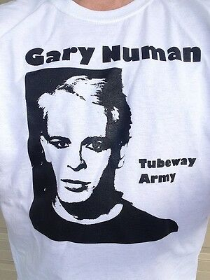 Tubeway Army T-Shirt TATEE5 NEW Gary Numan