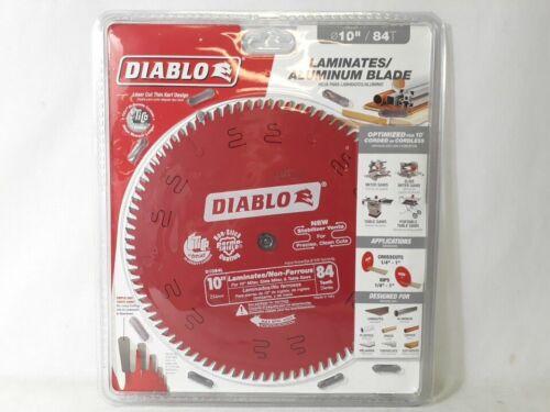 "Diablo D1084L 10/"" 84 Tooth Laminates /& Non-Ferrous Metals Saw Blade"