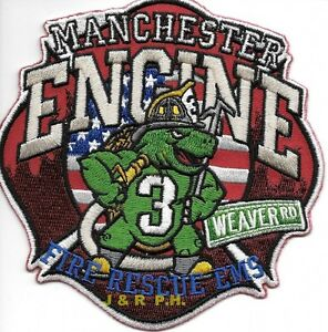 Manchester NH Engine 2 Fire Patch