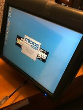 Micros Workstation 5a 400814101 Point Of Sale Terminal And Stand