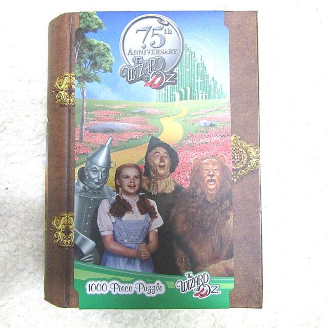 New The Wizard of Oz 1000 Piece Puzzle 75th Anniversary NIB Book Look