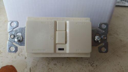 Cooper GFCI GFI Receptacle Outlet NEMA 5-20R VGFD20LA Almond