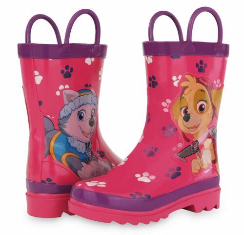 Bébé//Petit enfant PAR69081AO Nickelodeon Paw Patrol Fille Rose Bottes de pluie