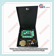 TCP/IP 4 Door Browser Server B/S iOS Android Apple App Access Controller w/Power