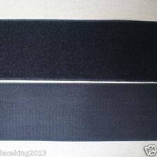 Sea Star 2 inch 10 Yards Black Sew on Hook and Loop Sew On Fasteners 10yards, Black