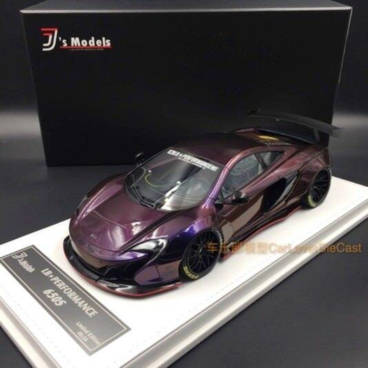 Mclaren 650s lb Works Chameleon Andrómeda J 's Models 1 18 GT Spirit nuevo