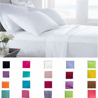 6 Piece 1800 Count Egyptian Comfort Deep Pocket Bed Sheet Set