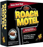 2 Traps Black Flag Roach Motel 4 Month Insect Pest Control Hg-11020 61009