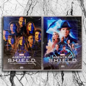 Agents-of-S-H-I-E-L-D-Season-6-amp-7-6-Disc-Set-DVD-Agents-of-SHIELD-Brand-New