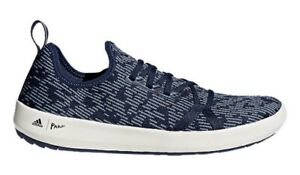 Men-039-s-adidas-Terrex-CC-Climacool-Boating-Fishing-Parley-Shoes-CM7527-BLUE