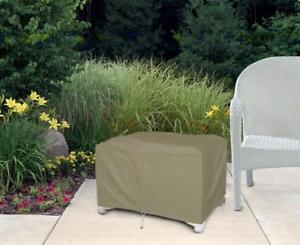 Ottoman Patio Furniture Cover Waterproof Outdoor Protection