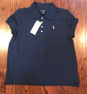 ee75827a0 Image is loading NWT-39-GIRLS-RALPH-LAUREN-POLO-COLLARED-SHIRTS-